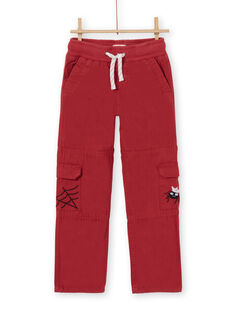 Red PANTS LOROUPAN / 21S902K1PANF506