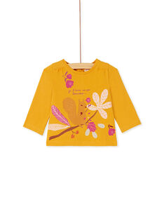 Yellow T-SHIRT KIRETEE2 / 20WG09G1TML107