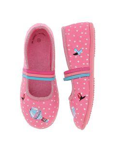 Girls' ballet pump slippers DFBALBALL / 18WK35W1D07030