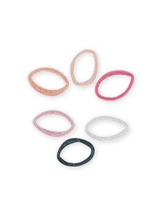 Set 6 elastici assortiti bambina MYAJOELA6 / 21WI01S1ELAK008