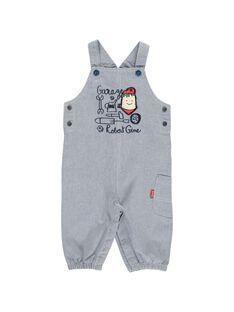Baby boys' dungarees CUKLESAL / 18SG10D1SAL099