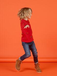 Jeans denim medio bambino MOCOJEAN / 21W902L1JEAP274