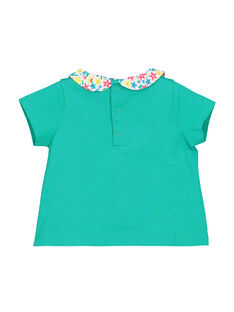 T-shirt maniche corte neonata FICABRA / 19SG09D1BRA209