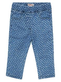 Jeans con stampa neonata JIJOPAN3 / 20SG0942PANP269