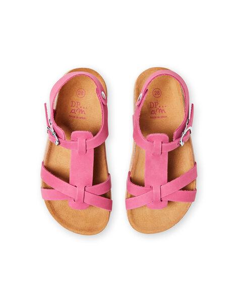 Sandali rosa bambina LFNUROSE / 21KK355SD0E030