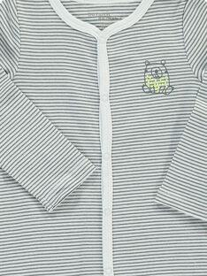 Unisex long-sleeved bodysuit with long legs DOU2BOD7 / 18WF05M7BOD099