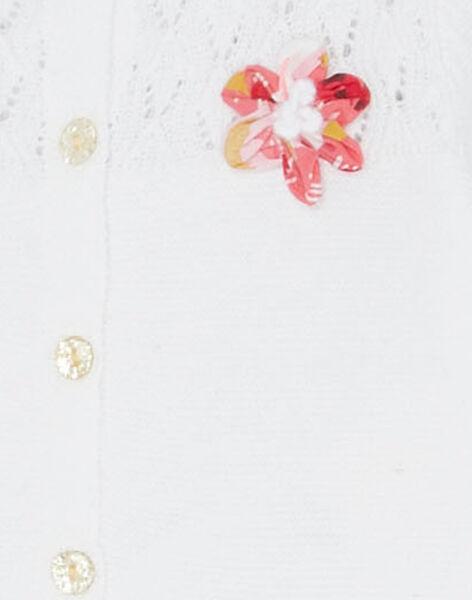 Off white Cardigan JIDUCAR / 20SG09O1CARA001