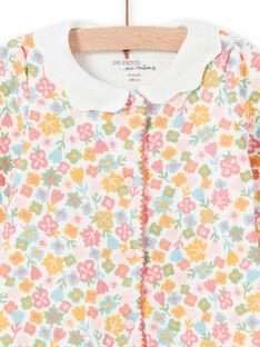 Tutina stampa a fiori con collo fantasia neonata MEFIGRESAU / 21WH1394GRE001