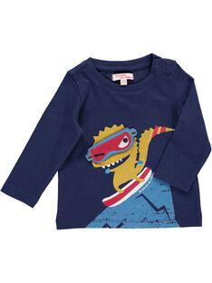 Baby boys' long-sleeved T-shirt DUPINTEE2 / 18WG10P2TMLC204