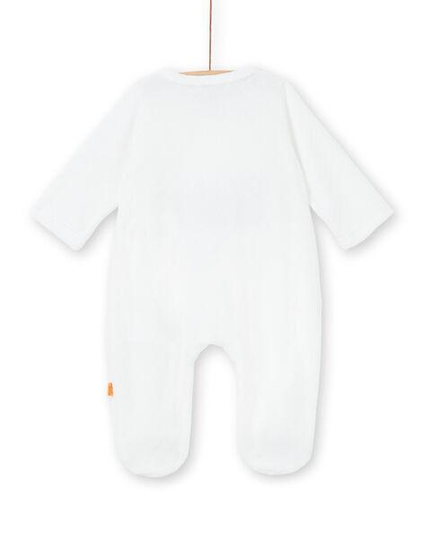 Tutina bianca neonato LOU1GRE4 / 21SF05H1GRE000