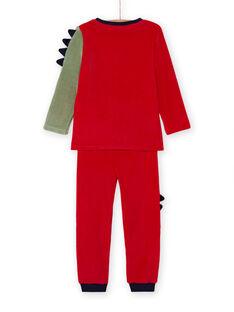 Set pigiama t-shirt e pantaloni motivo drago bambino MEGOPYJDRA / 21WH1287PYJF504