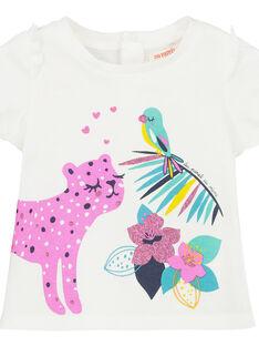 T-shirt maniche corte neonata FITUTI1 / 19SG09F1TMCA001