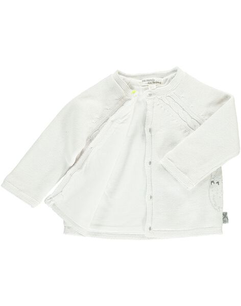 Unisex babies' cardigan DOU1GIL / 18WF0511GIL000