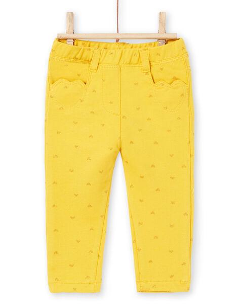 Pantaloni stampa cuore neonata LIJOPAN1 / 21SG0931PAN106