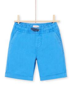 Bermuda blu bambino LOJOBERMU1 / 21S902F6BERC209