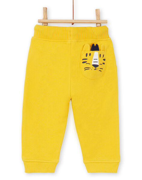 Pantaloni gialli neonato LUJOPAN1 / 21SG1034PAN106