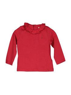 T-shirt maniche lunghe neonata FIJOBRA3 / 19SG0933BRA050