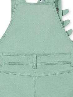 Salopette verde neonato LUVERSAC / 21SG10Q1SACG600
