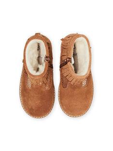 Light brown BOOTS MABOOTFRANC / 21XK3581D0D804