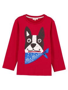 T- shirt Rossa fantasia. GOTRITEE3 / 19W902J2TML050