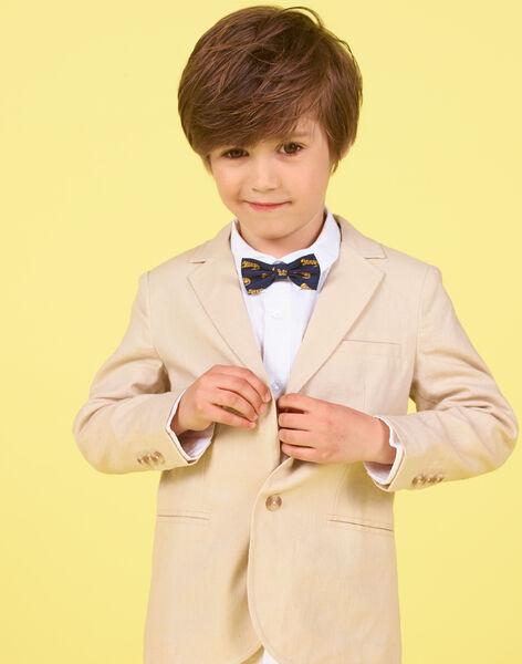 Giacca beige bambino LOJAUVES / 21S902O1VESA014