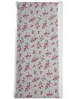 Scaldacollo bambina doppiogiro grigio con motivo a fiori e interno in pile sherpa JYAVISNOO / 20SI01D1SNO943
