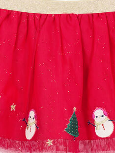 Gonna in tulle con glitter neonata GINOJU / 19WG09V1JUPF521