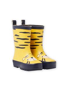Stivali da pioggia con motivi tigrati MUPLUITIGRE / 21XK3813D0C010