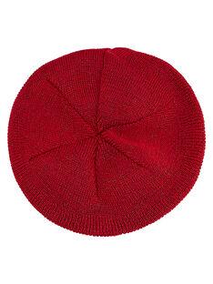 Basco neonata rosso con lurex JYIVIBON / 20SI09D1BON330