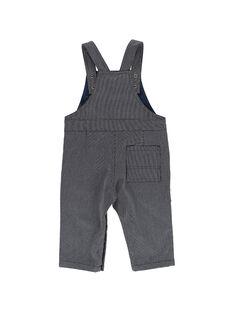 Baby boys' striped dungarees DUBLESAL / 18WG1091SAL099