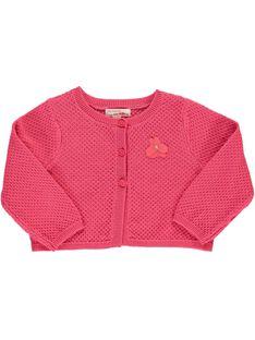 Baby girls' bolero cardigan CIFRICAR2 / 18SG09H2CARD312