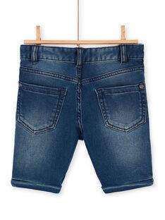 Bermuda in jeans blu bambino LOHABER1 / 21S902X2BERP274