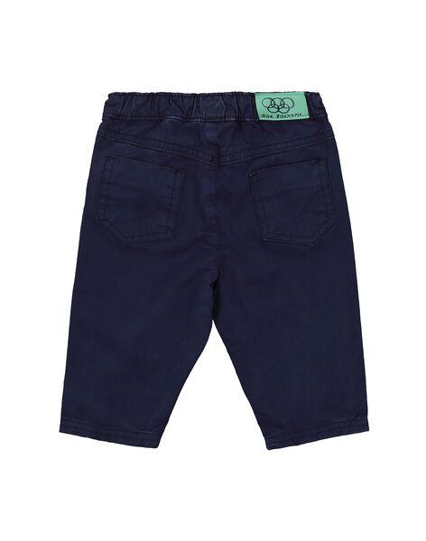Pantaloni elastico in vita neonato FUJOPAN4 / 19SG1034PAN713
