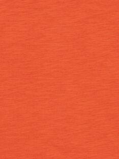 T-shirt arancione bambino LOTERTI3 / 21S902V3TMCE410