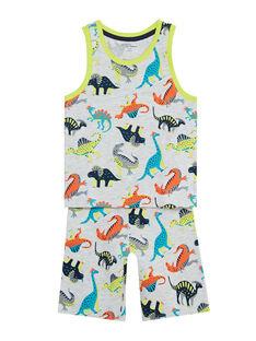 Grey Pajamas JEGOPYCDIN / 20SH12U8PYJJ920
