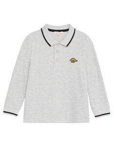 Heather grey POLO SHIRT KOJOPOL3 / 20W90253D2D943