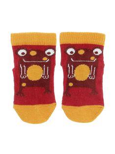 Baby boys' animal socks CYUJOCHO10A / 18SI10S7SOQ502