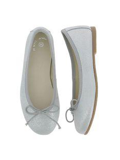 Girls' leather ballet pumps CFBALBO2 / 18SK35W3D41956