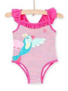 Costume da bagno rosa neonata LYIMER2 / 21SI09DEMAID320
