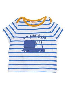 T-Shirt Maniche Corte Blu JUJOTI2 / 20SG10T2TMCC201
