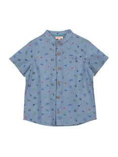 Camicia maniche corte bambino FOCACHEM / 19S902D1CHM704