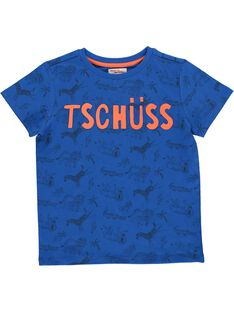 Boys' short-sleeved T-shirt COGAUTI6 / 18S902L6TMCC209