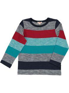 Boy's striped T-shirt DOTRITEE1 / 18W902D1TML099
