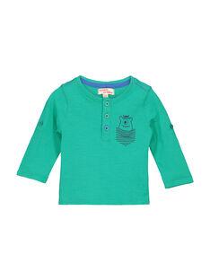T-shirt collo alla tunisina neonato FUJOTUN4 / 19SG1034TML630