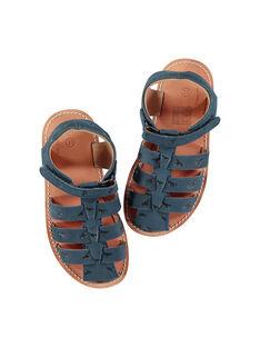 Sandali da città in pelle bambino FGSANDINO1 / 19SK36C1D0E070