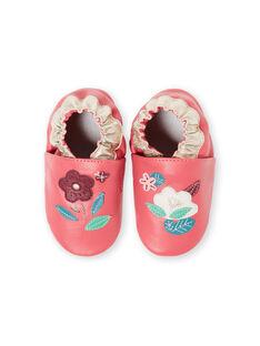 Pantofole fucsia neonata GNFLOWER / 19WK37Z3D3S304
