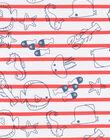 Polo ecrù neonato LUVIPOL / 21SG10U1POL001