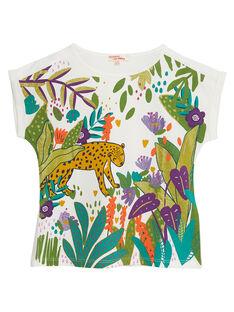 T-Shirt Maniche Corte Ecrù JASAUTI1 / 20S901Q2TMC001