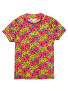 T-shirt anti-UV rossa JYAMERUV / 20SI01K1TUVF510