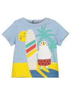 T-shirt con stampa neonato FUCUTI1 / 19SG10N1TMC213